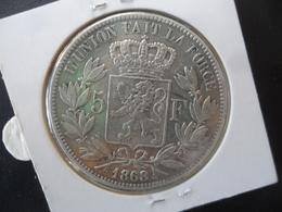 5 FRANCS Léopold 2 Argent TTB- - 09. 5 Francs