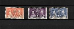 Sierra Leone KGVI 1937 Coronation, Complete Set Used (7118) - Sierra Leone (...-1960)