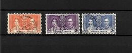 Sierra Leone KGVI 1937 Coronation, Complete Set Used (7119) - Sierra Leone (...-1960)