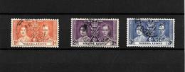 Sierra Leone KGVI 1937 Coronation, Complete Set Used (7120) - Sierra Leone (...-1960)
