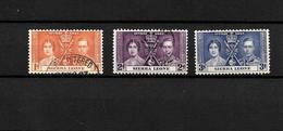 Sierra Leone KGVI 1937 Coronation, Complete Set Used (7121) - Sierra Leone (...-1960)