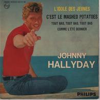 Disque 45 Tours JOHNNY HALLYDAY - 1962 Biem - Rock