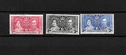 Somaliland Protectorate KGVI 1937 Coronation, Complete Set Used (7122) - Somaliland (Protectorate ...-1959)