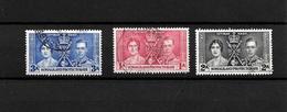 Somaliland Protectorate KGVI 1937 Coronation, Complete Set Used (7123) - Somaliland (Protectorate ...-1959)
