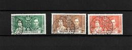 Trinidad & Tobago KGVI 1937 Coronation, Complete Set Used (7129) - Trinidad & Tobago (...-1961)