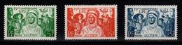 Algerie - YV 276 à 278 N** UPU Cote 11,60+ Euros - Algeria (1924-1962)