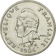 Monnaie, Nouvelle-Calédonie, 10 Francs, 1986, Paris, TTB, Nickel, KM:11 - Nouvelle-Calédonie