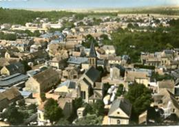 EN AVION AU DESSUS DE....  BALLANCOURT             LE CENTRE - Ballancourt Sur Essonne