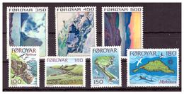 ISOLE FÆR ØER - INSIEME DI VALORI. - MNH** - Isole Faroer