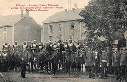 54 Villerupt, Frontiere Franco Allemande, Groupe De Cuirassiers - France