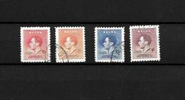 Nauru KGVI 1937 Coronation, Complete Sets Used (7144) - Nauru