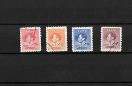 Nauru KGVI 1937 Coronation, Complete Sets Used (7145) - Nauru