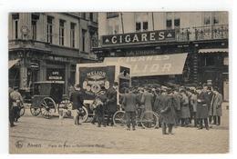 Anvers   Place De Meir  -  Automobile Melior (achterkant Reclame:A L'OTTOMAN Cigares Ernest TINCHANT ) - Antwerpen