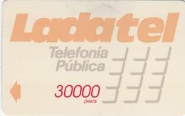 MEXICO - Ladatel Naranja($30000), CN : 9MEXC/D, Used - Mexico