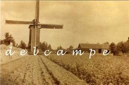 BRECHT / Overbroek (Antwerpen) - Molen/moulin - Zeldzame Opname Van De Verdwenen Molen Van Overbroek 1914-1918 - Brecht