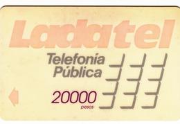 MEXICO - Ladatel Naranja($20000), CN : 8MEXC/B, Used - Mexico