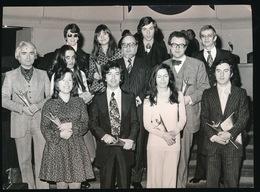 GENT - 1973 FOTO  17 X 13 CM  - 25 JARIG JUBILEUM VAN DR.J.O. DE GRUYTERDAGEN GEVIERD - Kaprijke