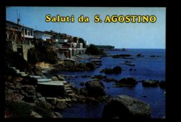 B7947 CIVITAVECCHIA - SALUTI DA SANT'AGOSTINO - Civitavecchia