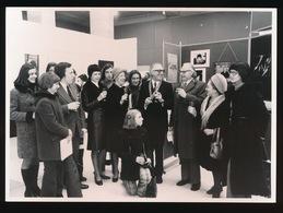 GENT - 1973 FOTO  17 X 13 CM  - 25 JARIG JUBILEUM VAN DR.J.O. DE GRUYTERDAGEN TENTOONSTELLING G.B. - Kaprijke