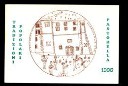 B7991 CIVITAVECCHIA - TRADIZIONI POPOLARI - PASTORELLA 1996 CON ANNULLO FILATELICO - Civitavecchia