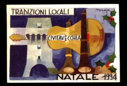 B7992 CIVITAVECCHIA - TRADIZIONI POPOLARI - PASTORELLA 1994 CON ANNULLO FILATELICO - Civitavecchia