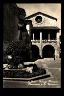 B8003 RIETI - PALAZZO VESCOVILE E MONUMENTO A SAN FRANCESCO B\N - Rieti