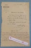 L.A.S 1902 - Avignon - Société De Médecine Du Département De Vaucluse - Lettre Autographe LAS - Autographes