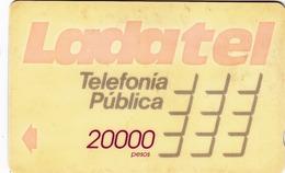 MEXICO - Ladatel Naranja($20000), CN : 10MEXB, Used - Mexico