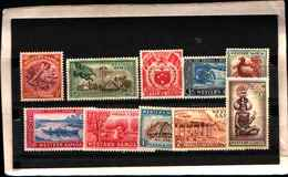 73252)  WESTERN SAMOA -1952 SOGGETI DIVERSI-SERIE COMPLETA N.149-58 - MNH** - Samoa