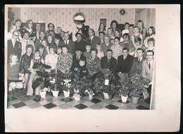 VURSTE   - 1973 FOTO  17 X 13 CM  -  GOUDEN BRUILOFT ( VCYRIEL VAN DER BEKEN EN MARIA HUYS  ) - Gavere