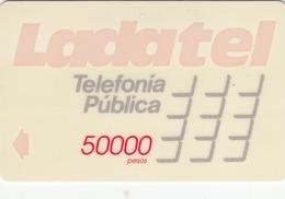 MEXICO - Ladatel Naranja($50000), CN : 9MEXD, Used - Mexico