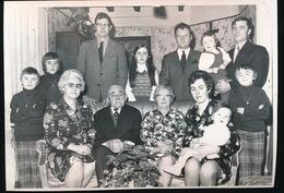 ZOTTEGEM - VELZEKE   - 1973 FOTO  15 X 10 CM  -  GOUDEN BRUILOFT ( A.DHOOSSCHE - BERTHA ??, ) - Zottegem