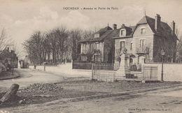 Dourdan : Avenue Et Porte De Paris - Dourdan