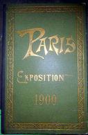 75 PARIS  EXPOSITION 1900  SUITE DE 20 VUES PHOTOLITHOGRAPHIEES   VUE GENERALE PALAIS DE L 'ELECTRICITE - Autres