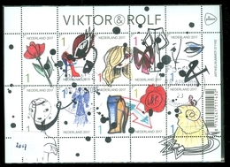 NEDERLAND * BLOK NVPH V3566 - 3575 * VICTOR & ROLF * BLOCK * BLOC * POSTFRIS GESTEMPELD 2017 - Periode 2013-... (Willem-Alexander)