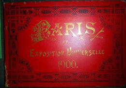 75 PARIS  EXPOSITION 1900  SUITE DE 15 VUES PHOTOLITHOGRAPHIEES   VUE GENERALE PALAIS ET VUES DE PARIS - Autres