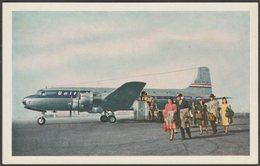 United Air Lines Douglas DC-6 Mainliner 300, C.1950 - United Air Lines Postcard - 1946-....: Modern Era