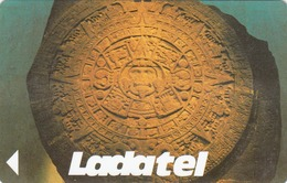 MEXICO - Calendario Azteca (30,000 $), CN : 19MEXD, Used - Mexico