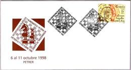 III OPEN INT. DE AJEDREZ - III Int. Chess Open. Petrer, Alicante, 1998 - Ajedrez