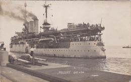 """Alte Ansichtskarte Des Minensuchschiffs """"Preussen"""" Geht In See - Guerre"""