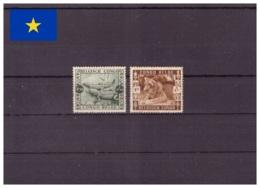 Congo Belge 1939 - MH * - Reptiles - Félins - Michel Nr. 188-189 (kin057) - Belgisch-Kongo