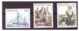 ISOLE FÆR ØER - 1984 - ASPETTI DELLA PESCA FAEROESE.. SERIE COMPLETA. - MNH** - Isole Faroer