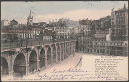Le Grand-Pont, Lausanne, Vaud, 1911 - Timothée Jacot CPA - VD Vaud