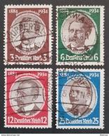 GERMANY , 1934 Deutsches Reich , Colonial Anniversaries , Used - Gebraucht