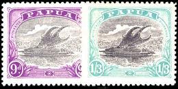 Papua 1932 Lakatoi Pair Fine Unmounted Mint. - Papua New Guinea