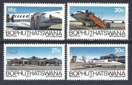 Bophuthatswana  Yv 177/80  BOP Airways 1986  ** Mnh - Bophuthatswana