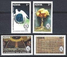 Kenya  Yv 356/9  Année Internationale De La Paix  ** Mnh - Kenya (1963-...)