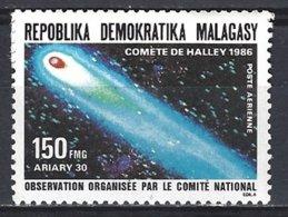 Madagascar Yv  PA 190, Passage De La Comète De Halley  ** Mnh - Astrologie