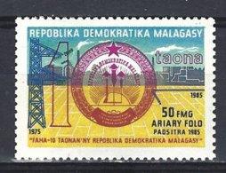 Madagascar Yv 763 + 764 Anniversaires Divers ** Mnh - Madagascar (1960-...)