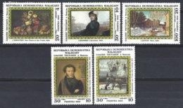 Madagascar Yv 771/5  Tableaux De Peintres Russes ** Mnh - Madagascar (1960-...)